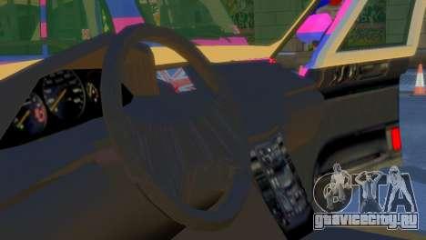 London Taxi Cab v1 для GTA 4 вид сзади слева