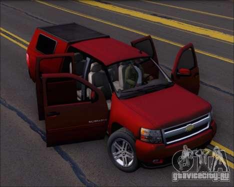 Chevrolet Silverado 2011 для GTA San Andreas вид сбоку