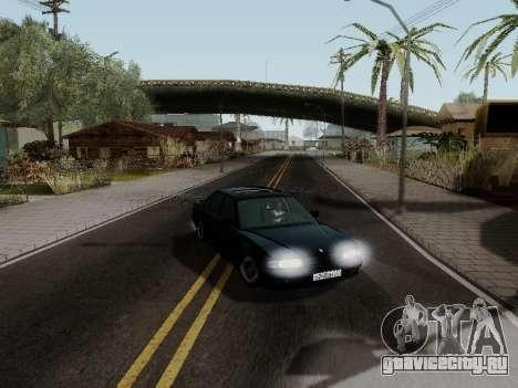 BMW 760i E38 для GTA San Andreas вид изнутри