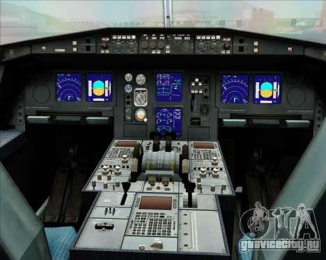 Airbus A330-300 Oman Air для GTA San Andreas вид снизу