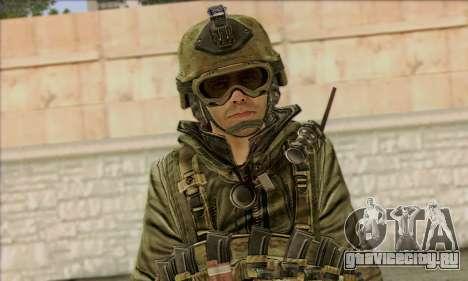 Task Force 141 (CoD: MW 2) Skin 11 для GTA San Andreas третий скриншот