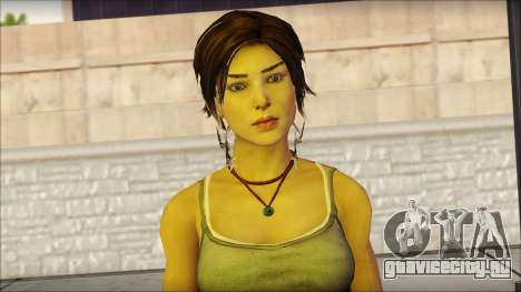 Tomb Raider Skin 11 2013 для GTA San Andreas третий скриншот