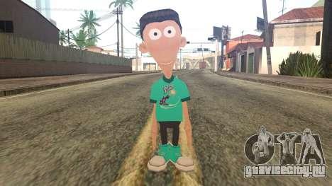 Sheen from Jimmy Neutron для GTA San Andreas