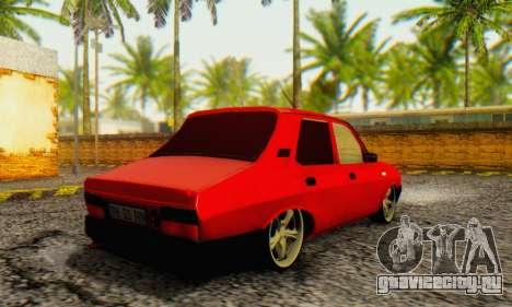 Dacia 1310 TLX PRN v2 для GTA San Andreas вид сзади слева