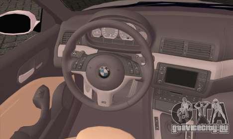 BMW M3 Cabrio для GTA San Andreas