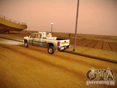 Chevrolet Silverado 2500HD Public Works Truck для GTA San Andreas вид сбоку