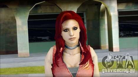 Claire Aflterlife Skin для GTA San Andreas третий скриншот
