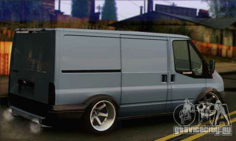 Ford Transit Limited Edition для GTA San Andreas вид слева