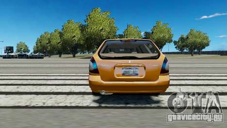 Daewoo Nubira I Wagon CDX US 1999 для GTA 4 вид сзади слева