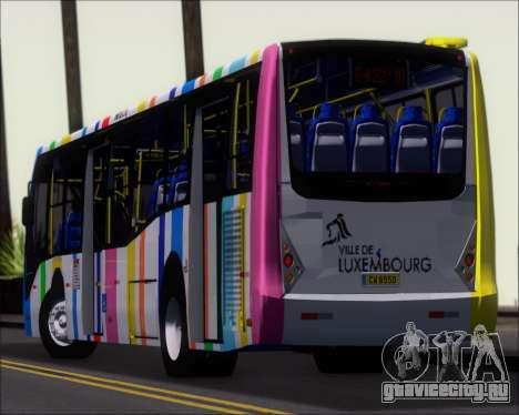 Caio Millennium II Volksbus 17-240 для GTA San Andreas вид сверху