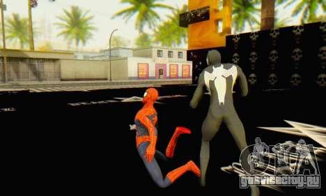 Skin The Amazing Spider Man 2 - Molecula Estable для GTA San Andreas пятый скриншот