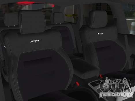 Jeep Grand Cherokee SRT-8 (WK2) 2012 для GTA Vice City вид сбоку