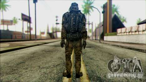 Солдат из команды Фантом 1 для GTA San Andreas второй скриншот