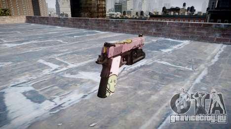 Пистолет Kimber 1911 Kawaii для GTA 4 второй скриншот