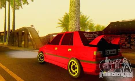 Dacia Super Nova Tuning для GTA San Andreas вид сзади слева