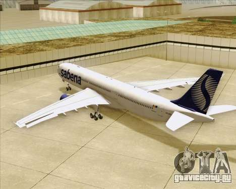 Airbus A330-300 Sabena для GTA San Andreas колёса