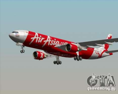 Airbus A330-300 Air Asia X для GTA San Andreas двигатель
