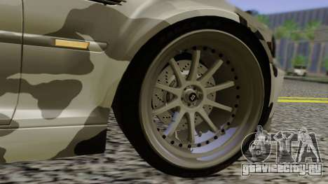 BMW M3 E46 Coupe 2005 Hellaflush v2.0 для GTA San Andreas вид снизу