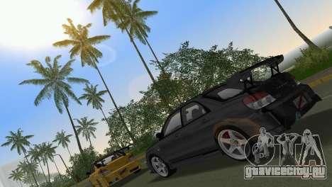Subaru Impreza WRX STI 2006 Type 3 для GTA Vice City вид сбоку