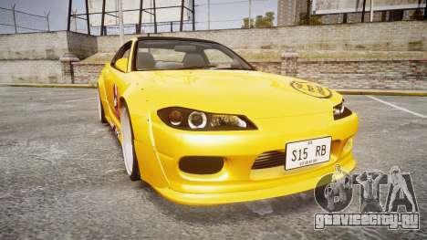 Nissan Silvia S15 Street Drift [Updated] для GTA 4