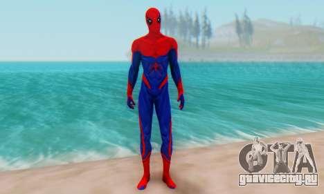 Skin The Amazing Spider Man 2 - Nueva Era для GTA San Andreas второй скриншот