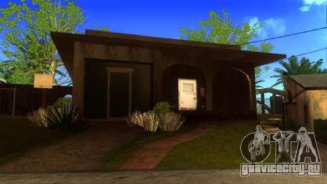 Новые HD текстуры домов на Гроув-стрит v2 для GTA San Andreas пятый скриншот
