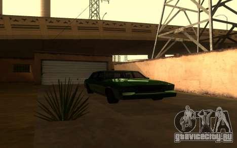 Tahoma Restyle для GTA San Andreas вид сзади слева
