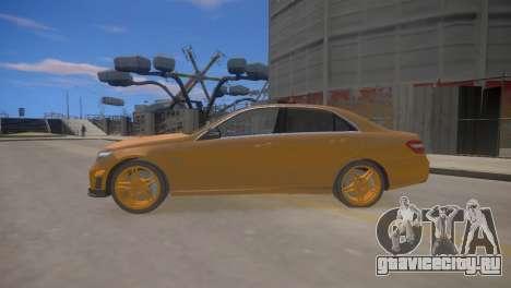 Mercedes-Benz E63 AMG для GTA 4 для GTA 4 вид слева