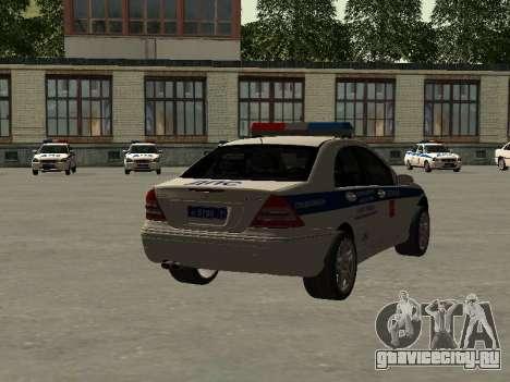 Мерседес Дпс для GTA San Andreas вид слева