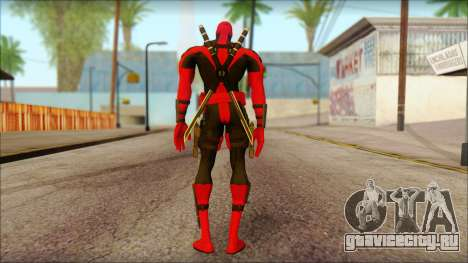 Ultimate Deadpool The Game Cable для GTA San Andreas второй скриншот