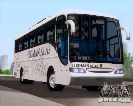 Comil Champione 2005 Hedman Alas для GTA San Andreas вид изнутри