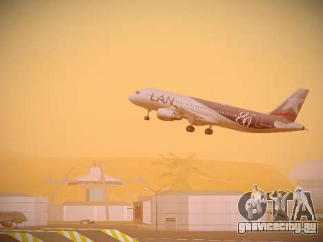 Airbus A320-214 LAN Airlines 80 Years для GTA San Andreas