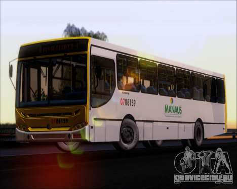 Caio Induscar Apache S21 Volksbus 17-210 Manaus для GTA San Andreas