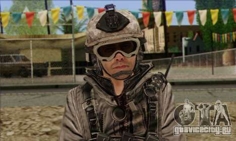 Task Force 141 (CoD: MW 2) Skin 5 для GTA San Andreas третий скриншот
