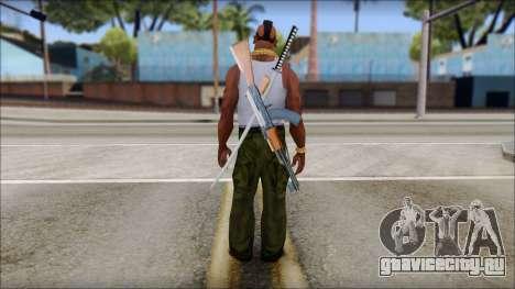 MR T Skin v10 для GTA San Andreas второй скриншот