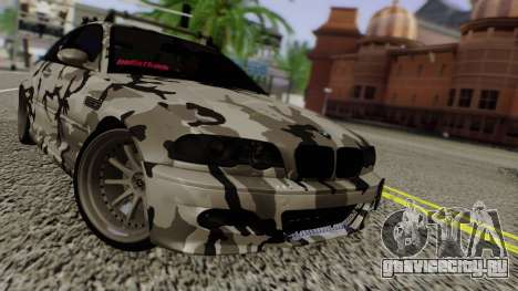 BMW M3 E46 Coupe 2005 Hellaflush v2.0 для GTA San Andreas вид слева