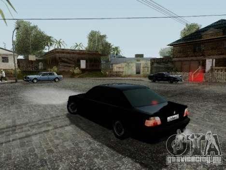 BMW 760i E38 для GTA San Andreas вид справа