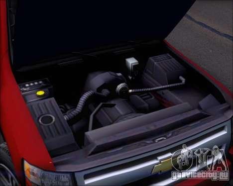 Chevrolet Silverado 2011 для GTA San Andreas вид сверху