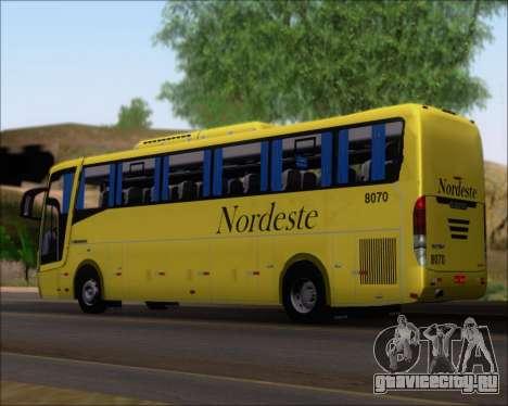 Busscar Elegance 360 Viacao Nordeste 8070 для GTA San Andreas вид слева