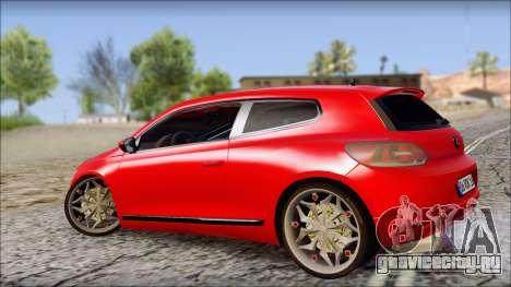 Volkswagen Scirocco Soft Tuning для GTA San Andreas вид слева