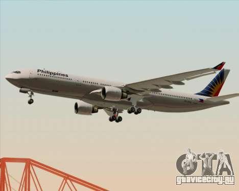 Airbus A330-300 Philippine Airlines для GTA San Andreas двигатель