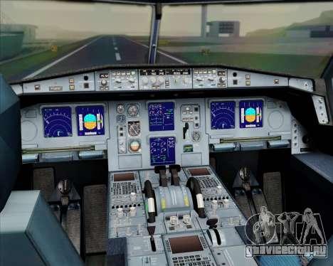 Airbus A330-300 Emirates для GTA San Andreas салон
