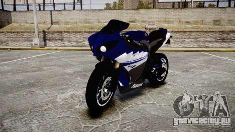Yamaha YZF-R1 2009 для GTA 4