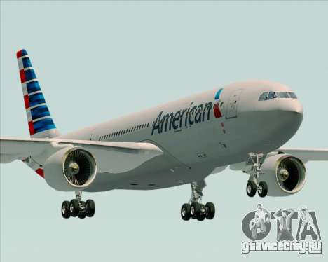 Airbus A330-200 American Airlines для GTA San Andreas