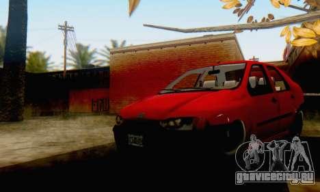 Fiat Siena 1998 для GTA San Andreas