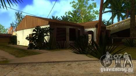 Новые HD текстуры домов на Гроув-стрит v2 для GTA San Andreas одинадцатый скриншот