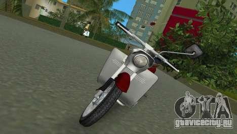 Jawa Type 20 Moped для GTA Vice City вид слева