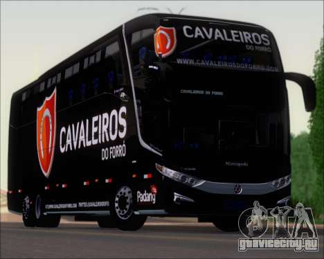 Marcopolo Paradiso G7 1600LD Scania K420 для GTA San Andreas вид сверху