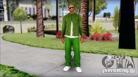 New CJ v2 для GTA San Andreas