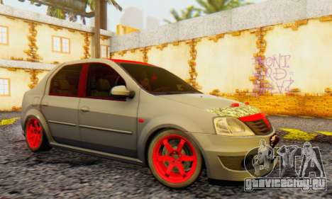 Dacia Logan Turkey Tuning для GTA San Andreas